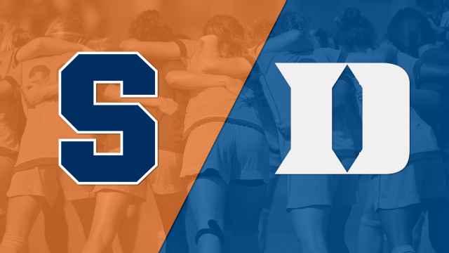 Syracuse vs. #10 Duke (W Soccer)