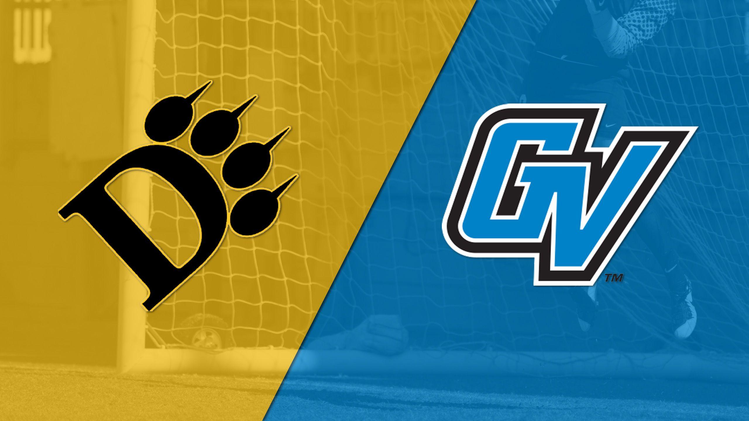 Ohio Dominican vs. Grand Valley State (Semifinal #1) (GLIAC Women's Soccer Tournament)