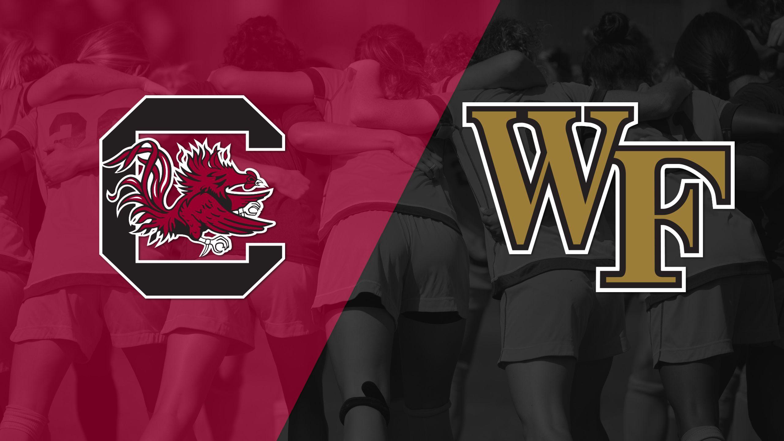#3 South Carolina vs. Wake Forest (W Soccer)