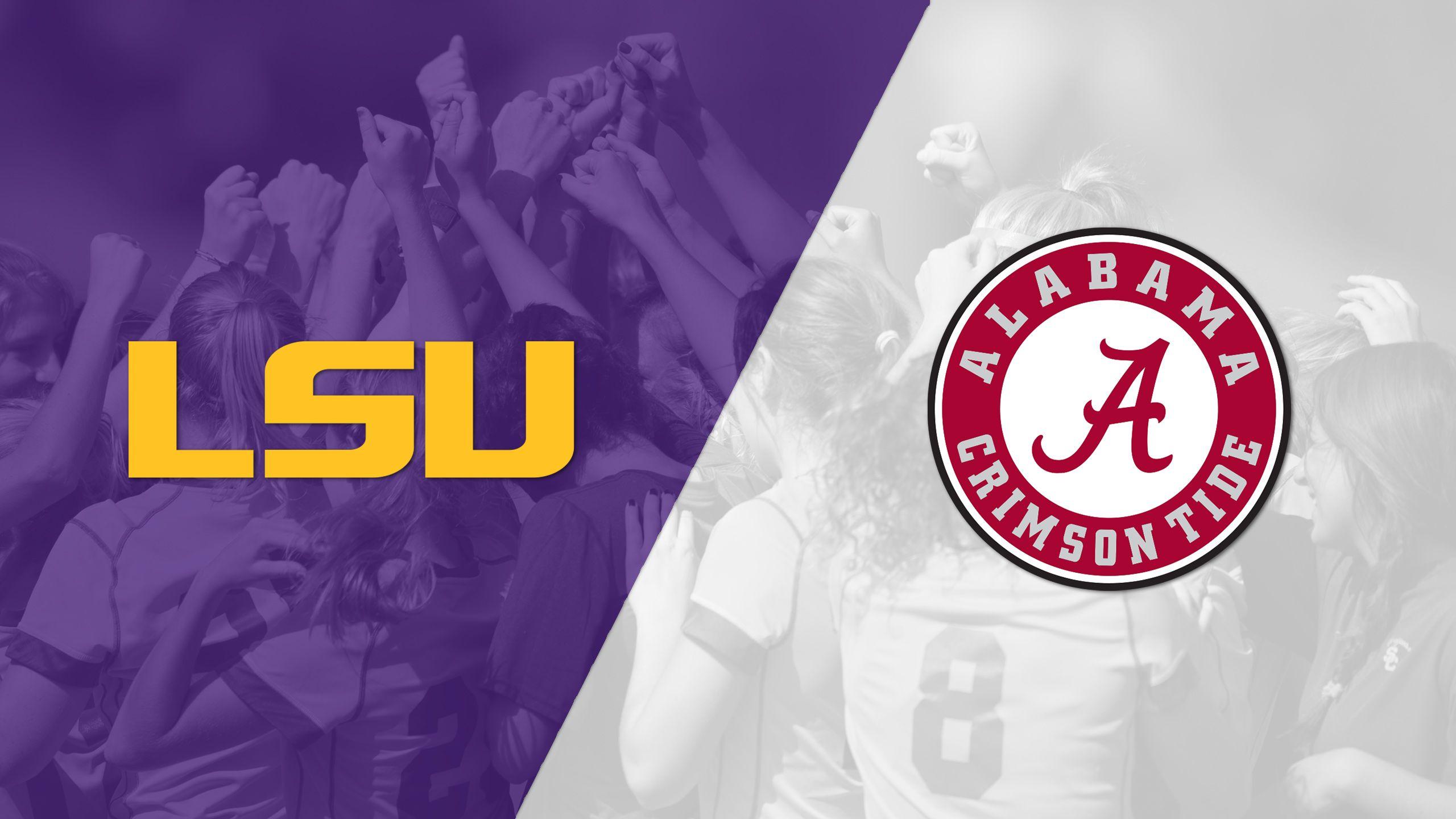 LSU vs. Alabama (W Soccer)