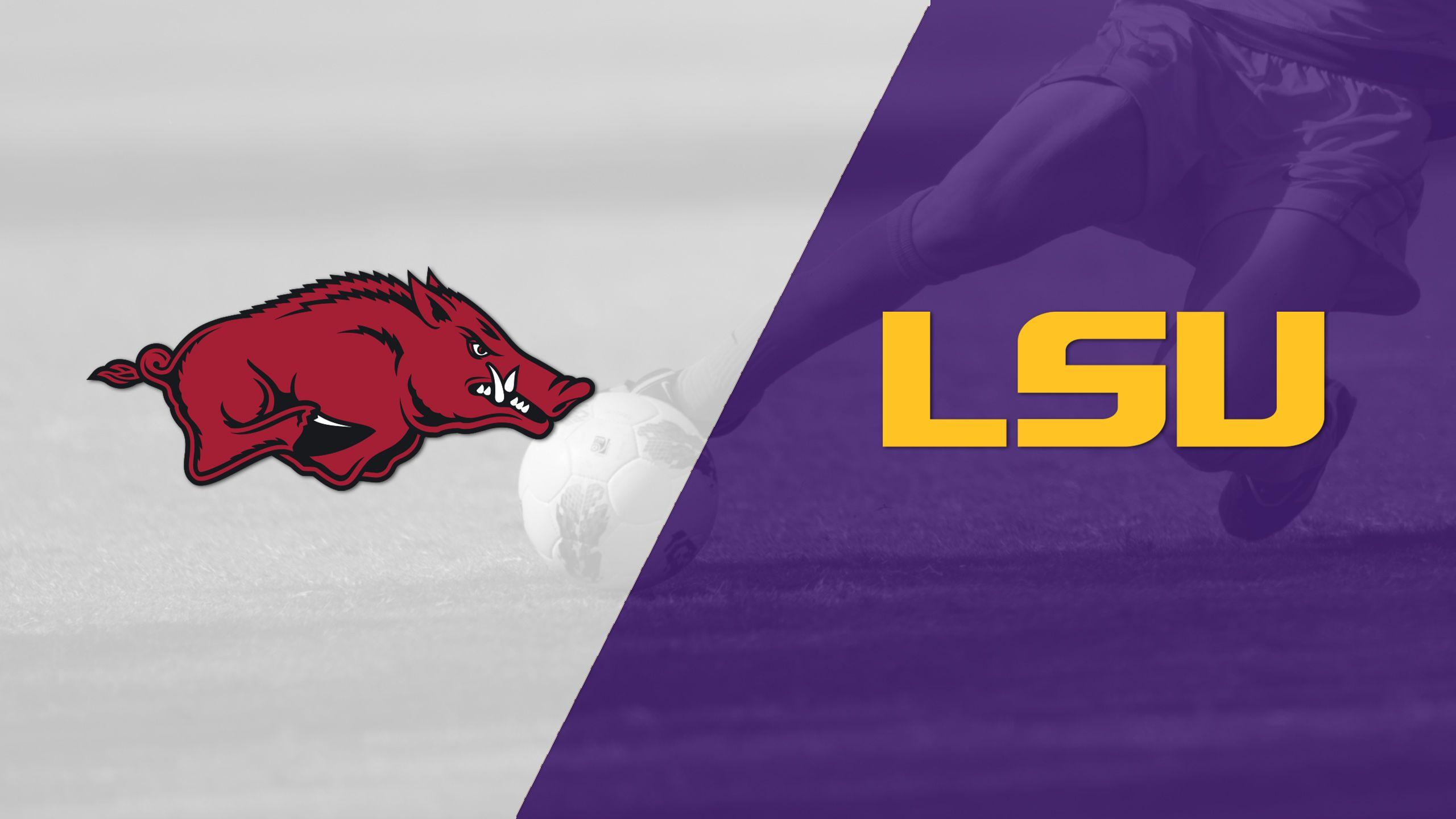 Arkansas vs. LSU (W Soccer)
