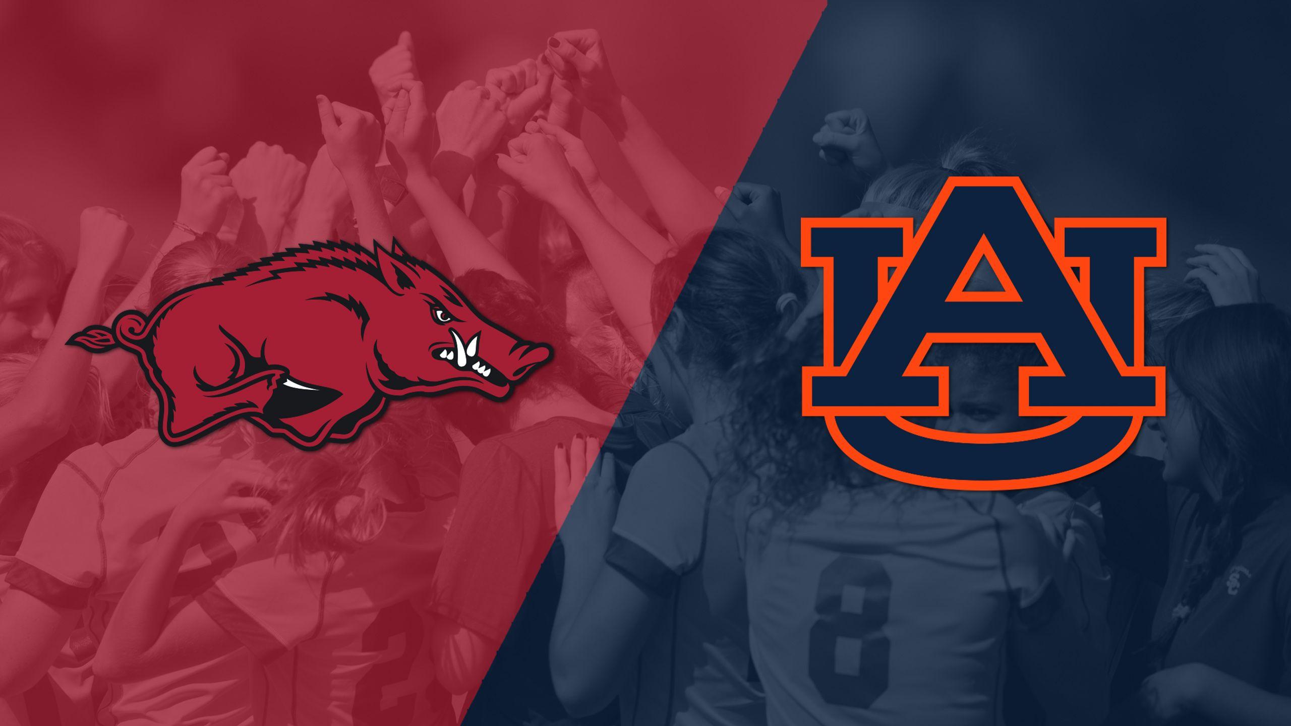 Arkansas vs. Auburn (W Soccer)
