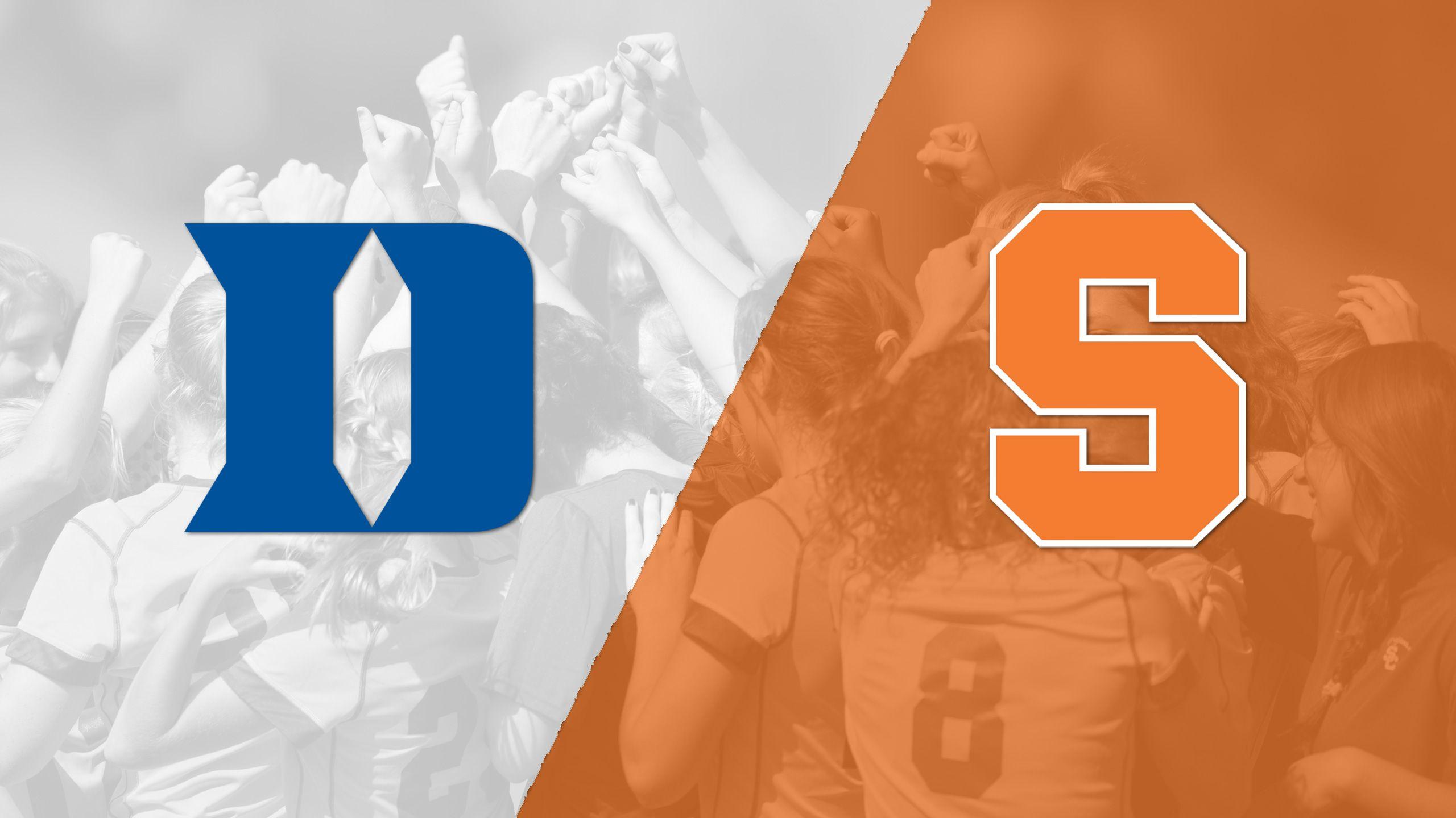 #4 Duke vs. Syracuse (W Soccer)
