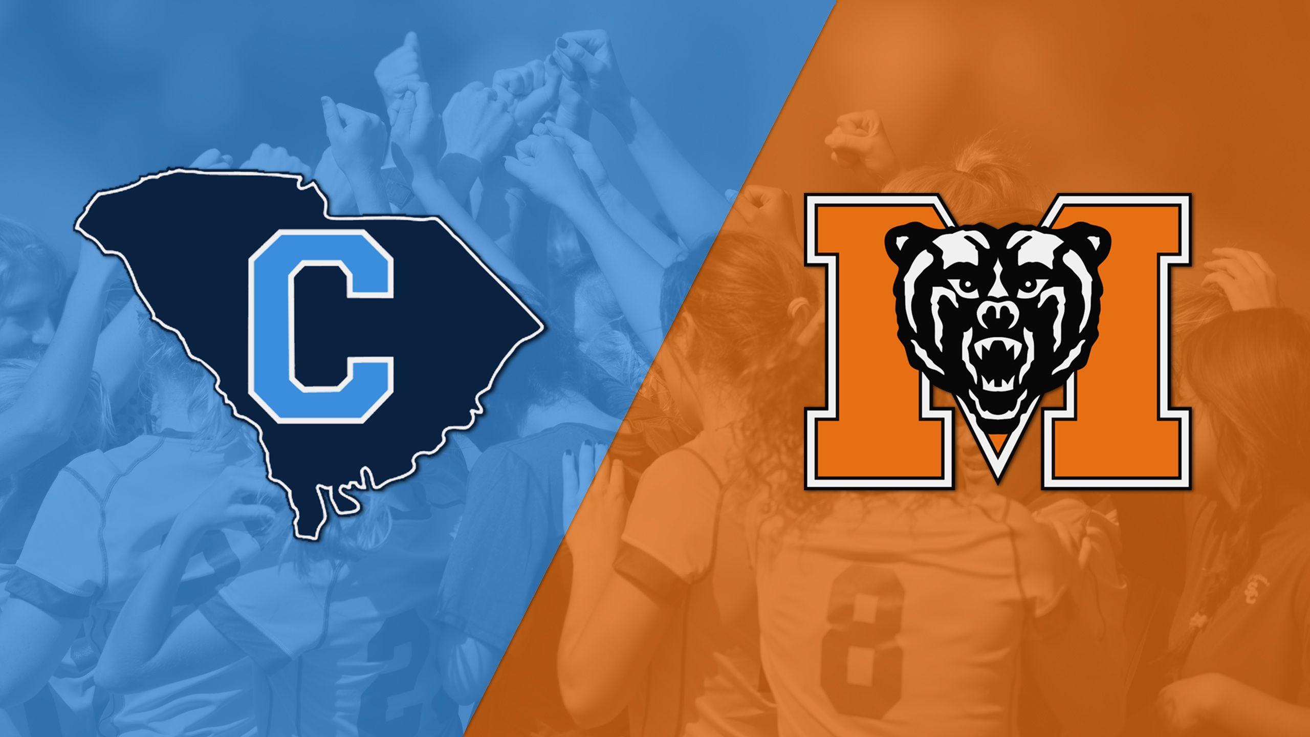 The Citadel vs. Mercer (First Round) (SoCon Women's Soccer Championship)