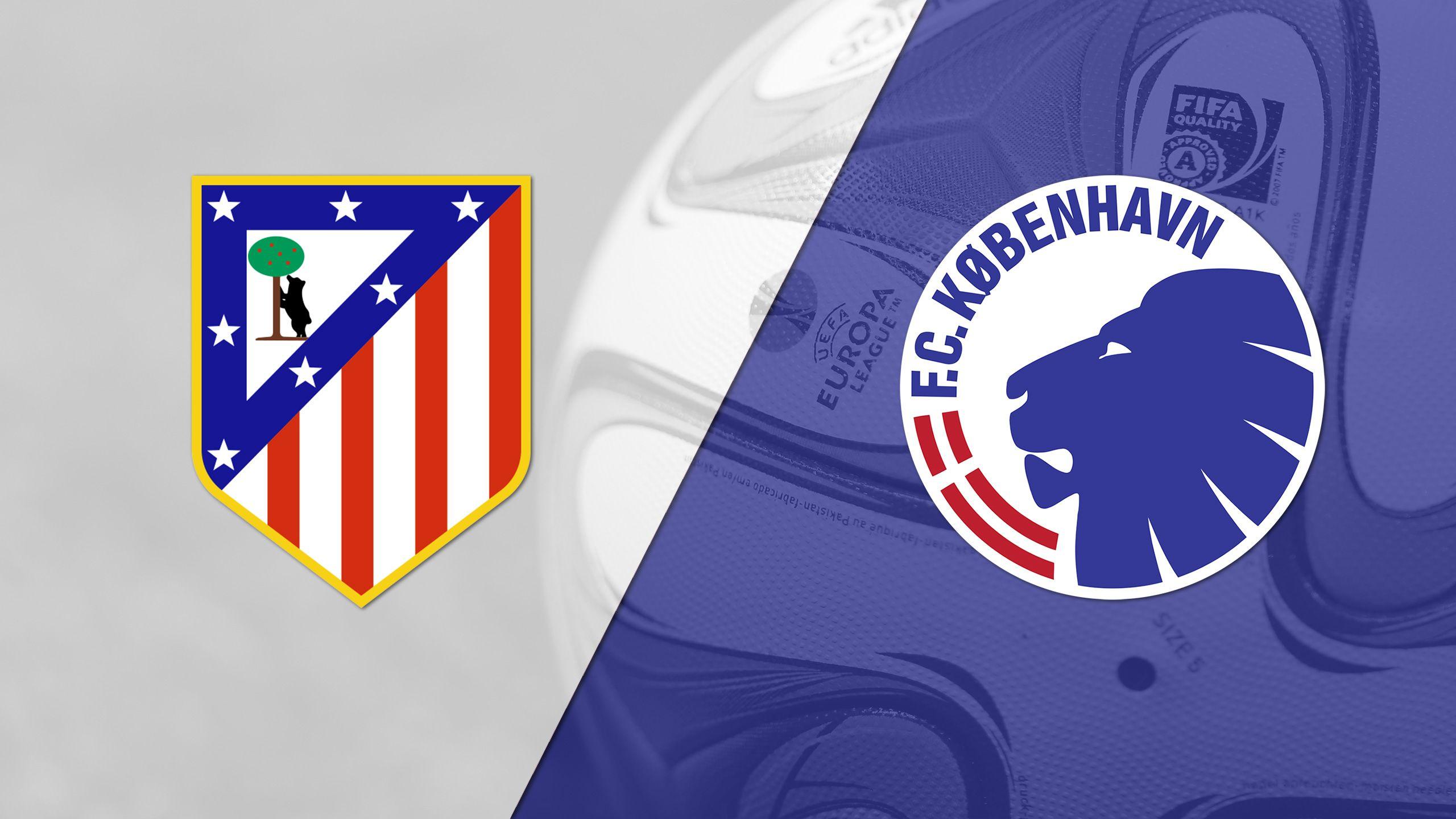 In Spanish - Atletico Madrid vs. Kobenhavn (Round of 32, Second Leg) (UEFA Europa League)