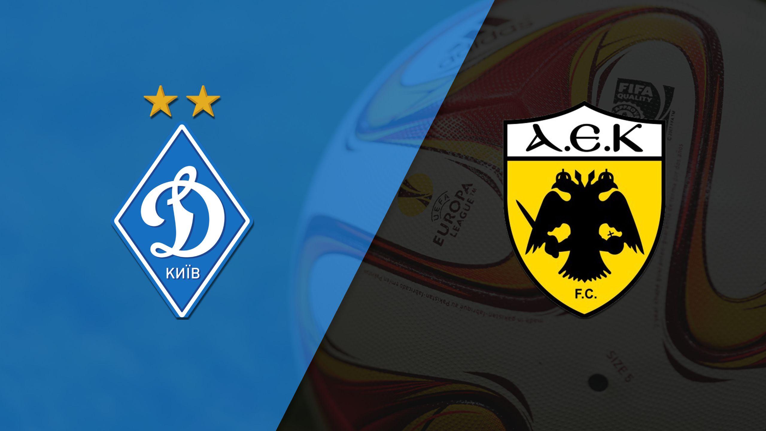 In Spanish - Dynamo Kiev vs. AEK Atenas (Round of 32, Second Leg) (UEFA Europa League)