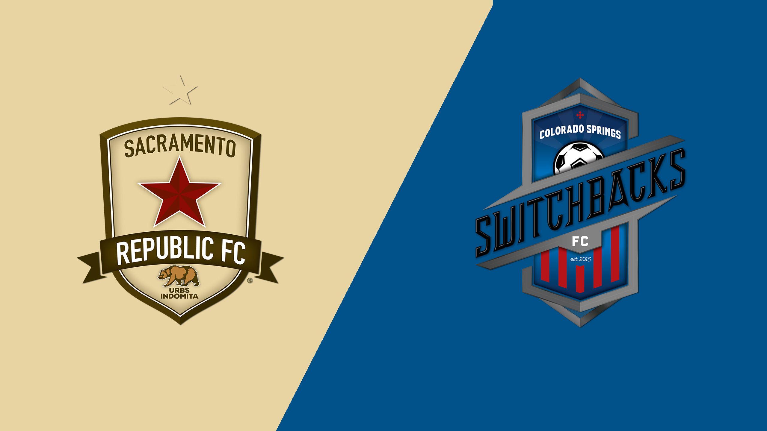 Sacramento Republic FC vs. Colorado Springs Switchbacks FC