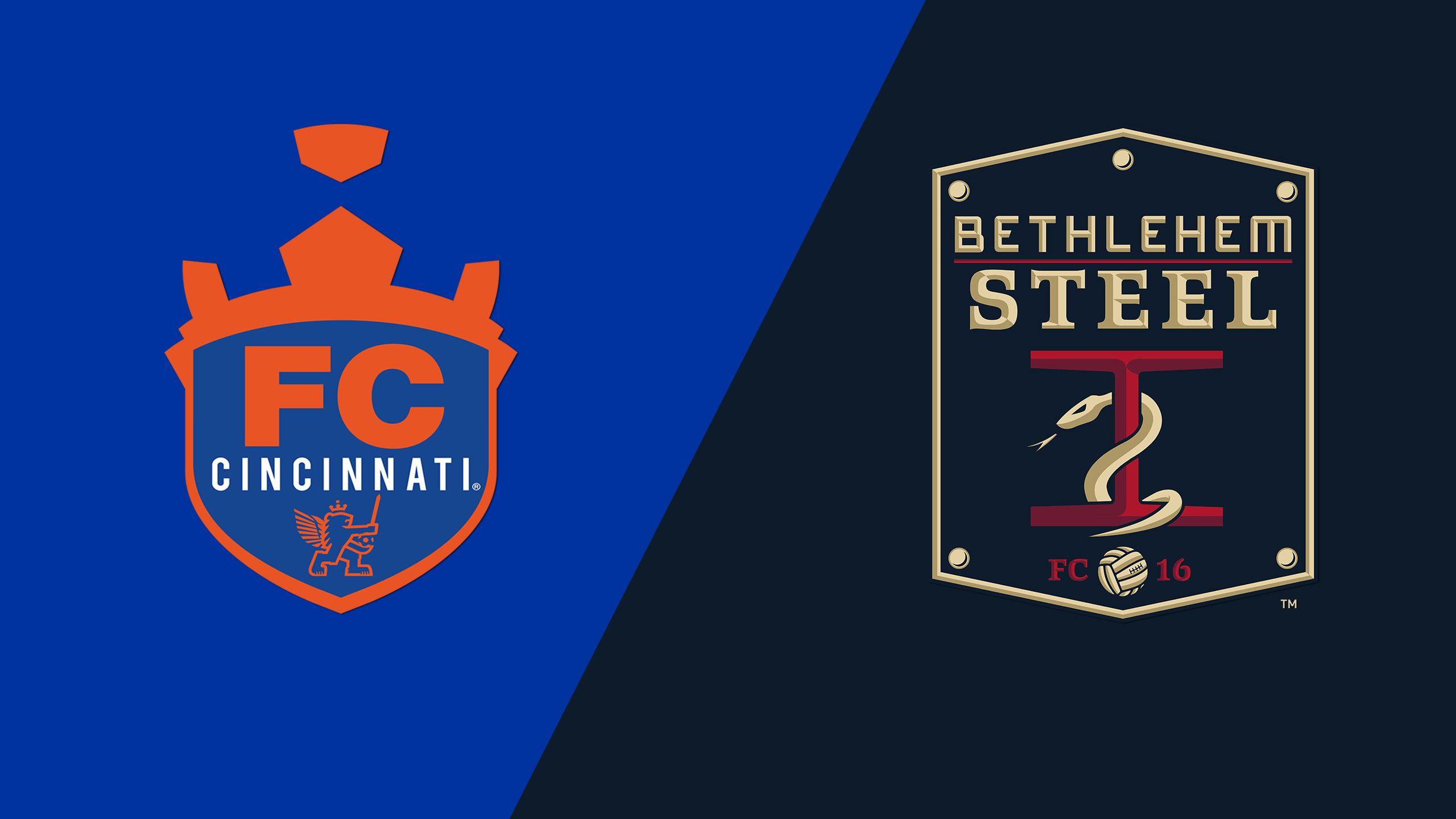 FC Cincinnati vs. Bethlehem Steel FC