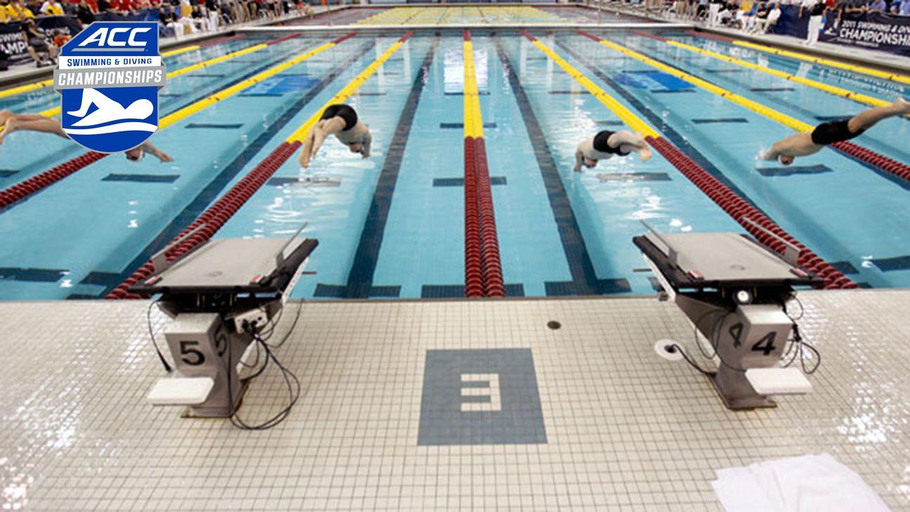 2016 ACC Men's Swimming Championship (Day 1)