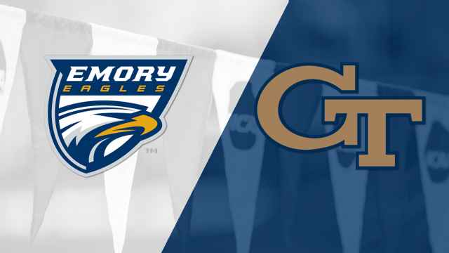 Emory vs. Georgia Tech (Swimming & Diving)