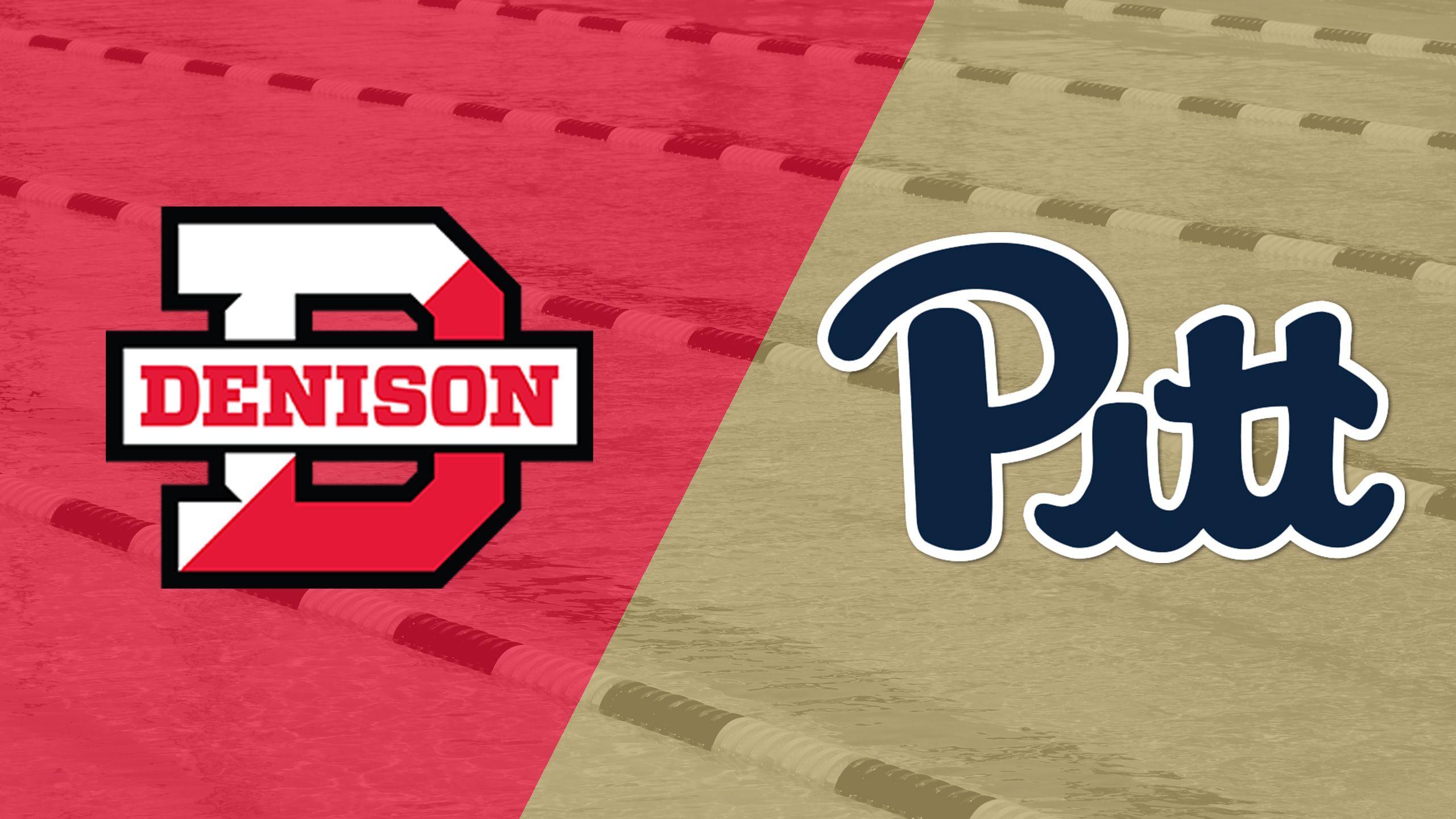 Denison vs. Pittsburgh (Swimming & Diving)