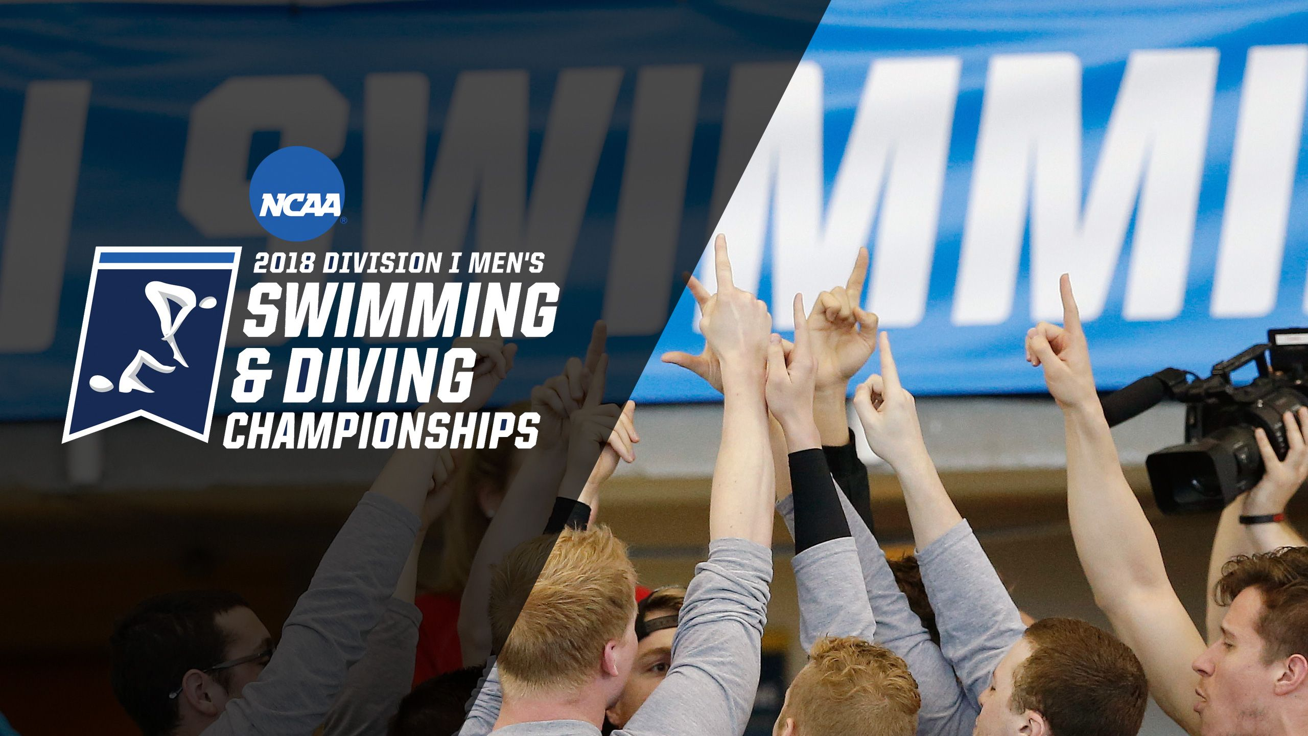 2018 NCAA Men's Swimming & Diving Championships - Trophy Presentation
