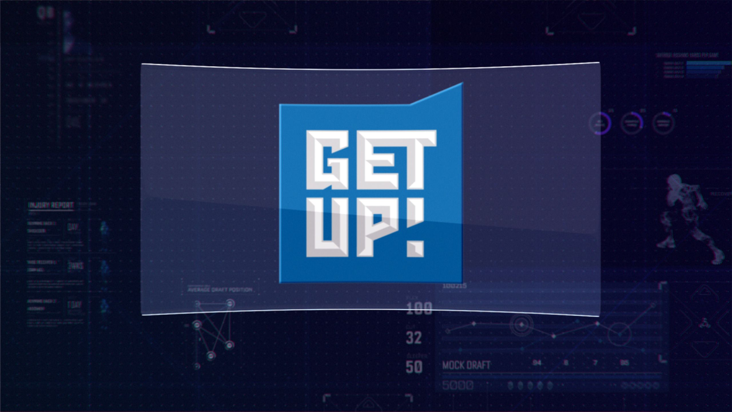 Tue 8/14 - Get Up! as Part of The ESPN Fantasy Football Marathon