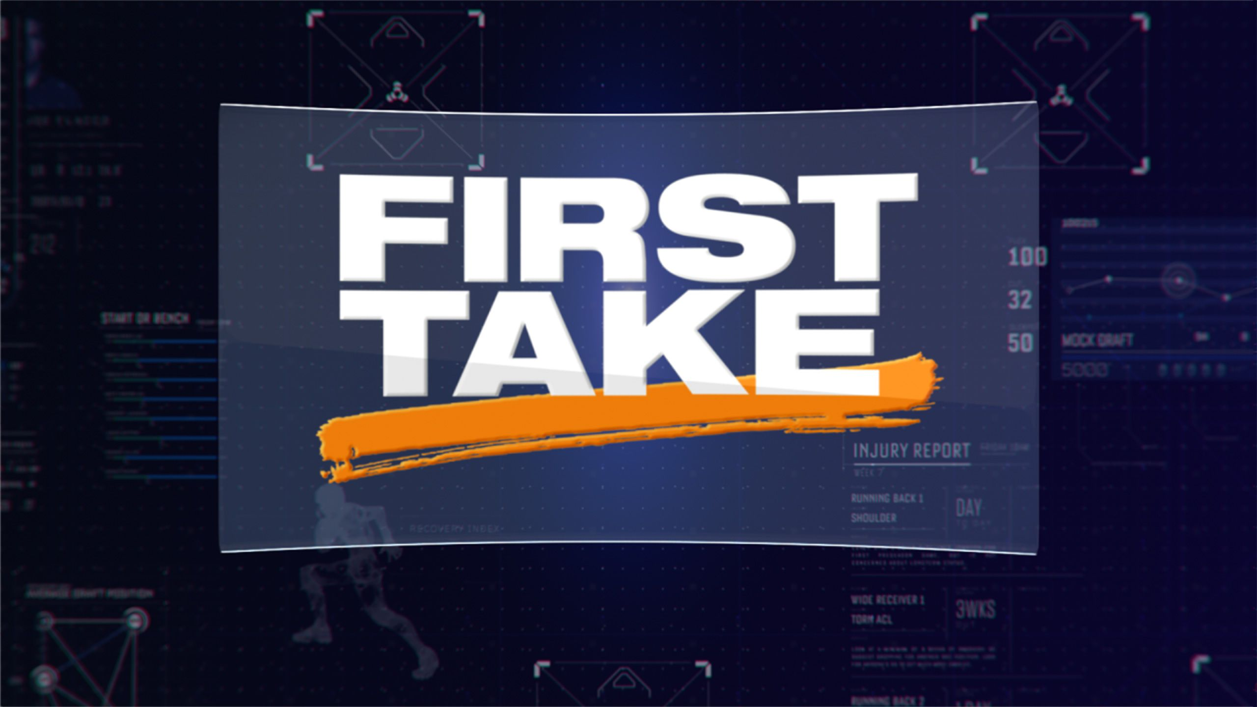 Tue 8/14 - First Take as Part of The ESPN Fantasy Football Marathon