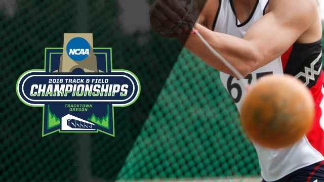 NCAA Track & Field Outdoor Championships - Men's Hammer Throw Trials & Final (Feed #1)