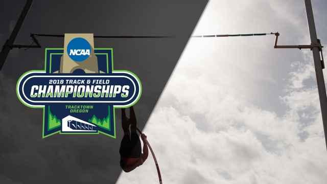 NCAA Track & Field Outdoor Championships - Men's Pole Vault Final (Feed #2)