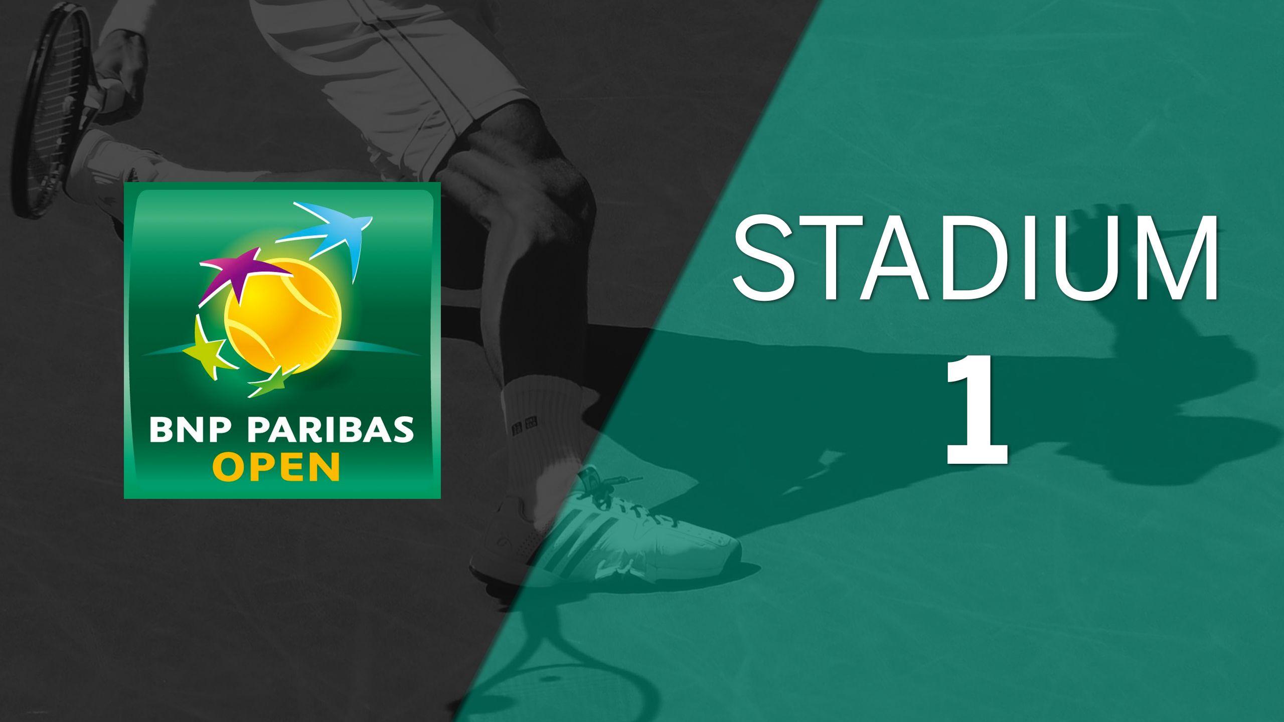 BNP Paribas Open - Stadium 1 (Third Round)