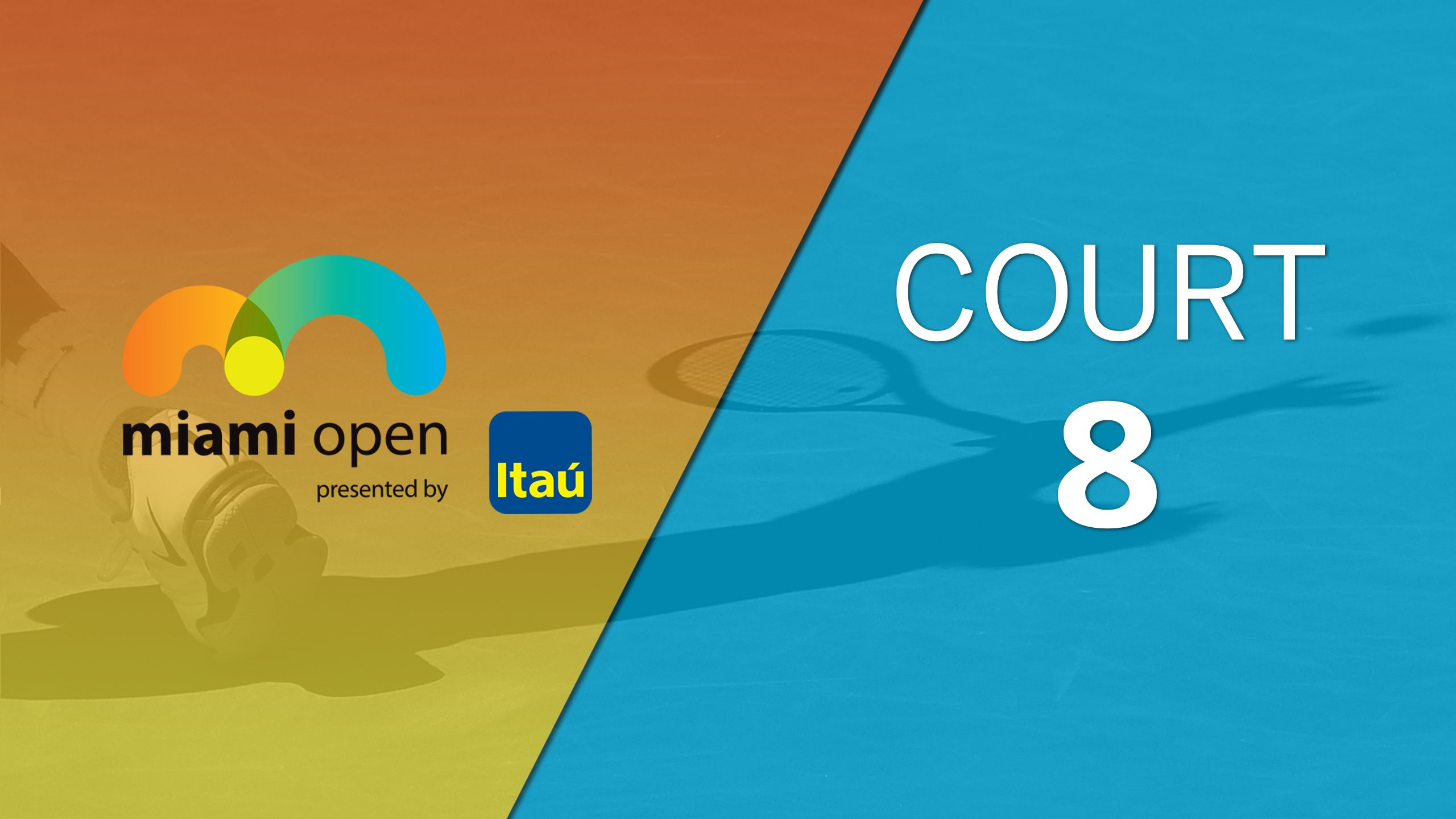 Miami Open - Court 8 (Second Round)