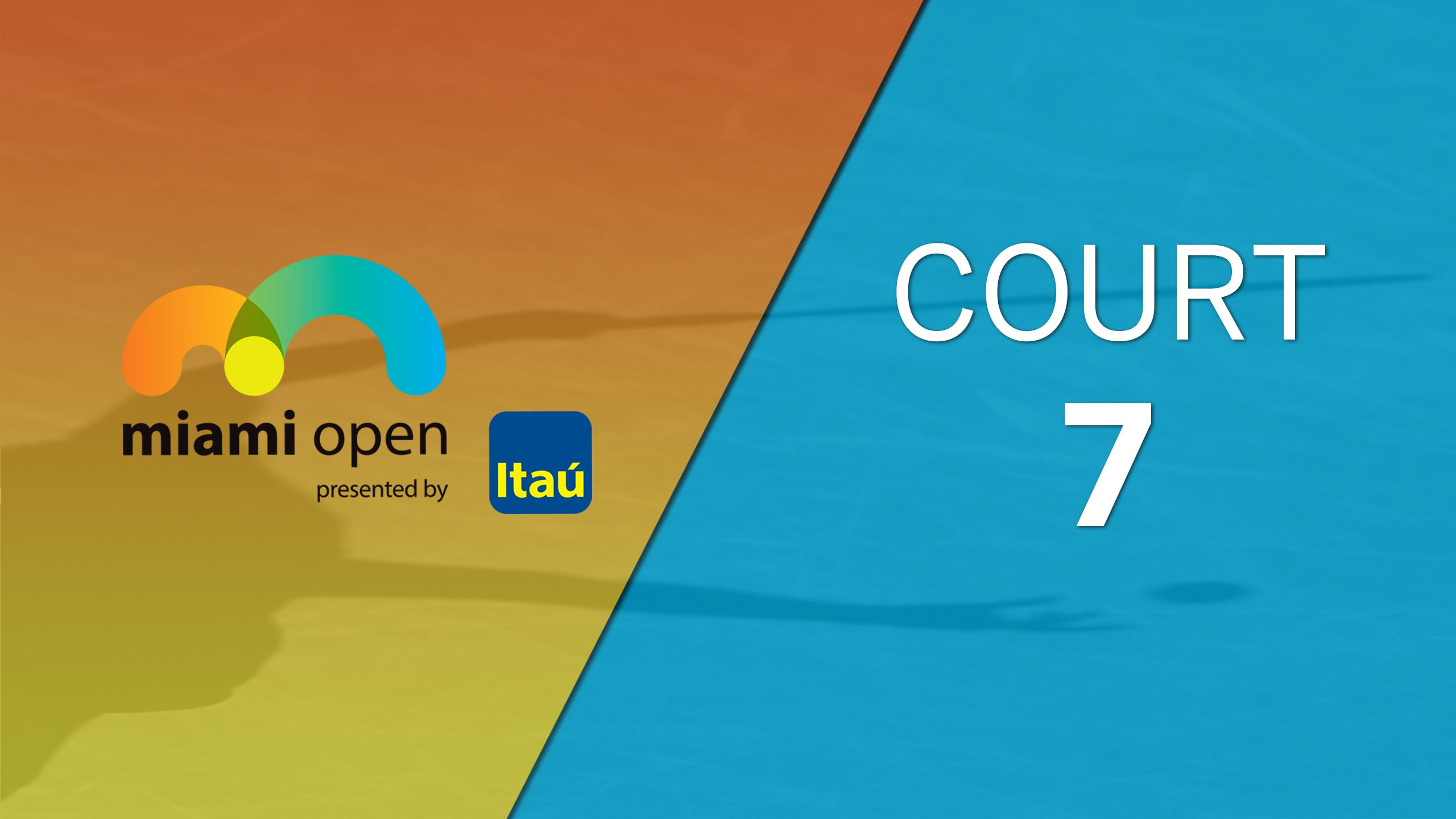 Miami Open - Court 7 (First Round)