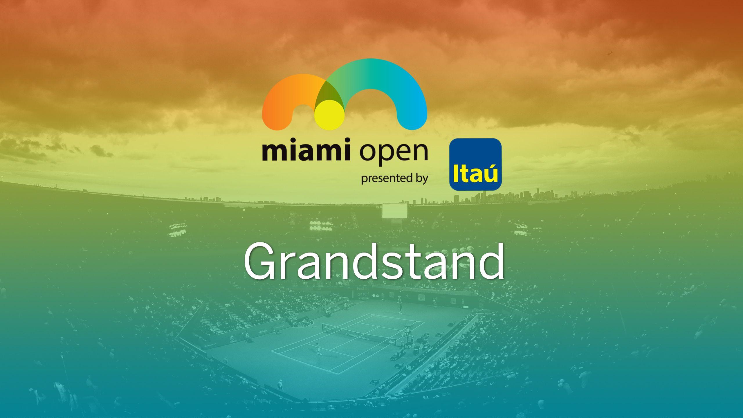 Miami Open - Grandstand (Second Round)