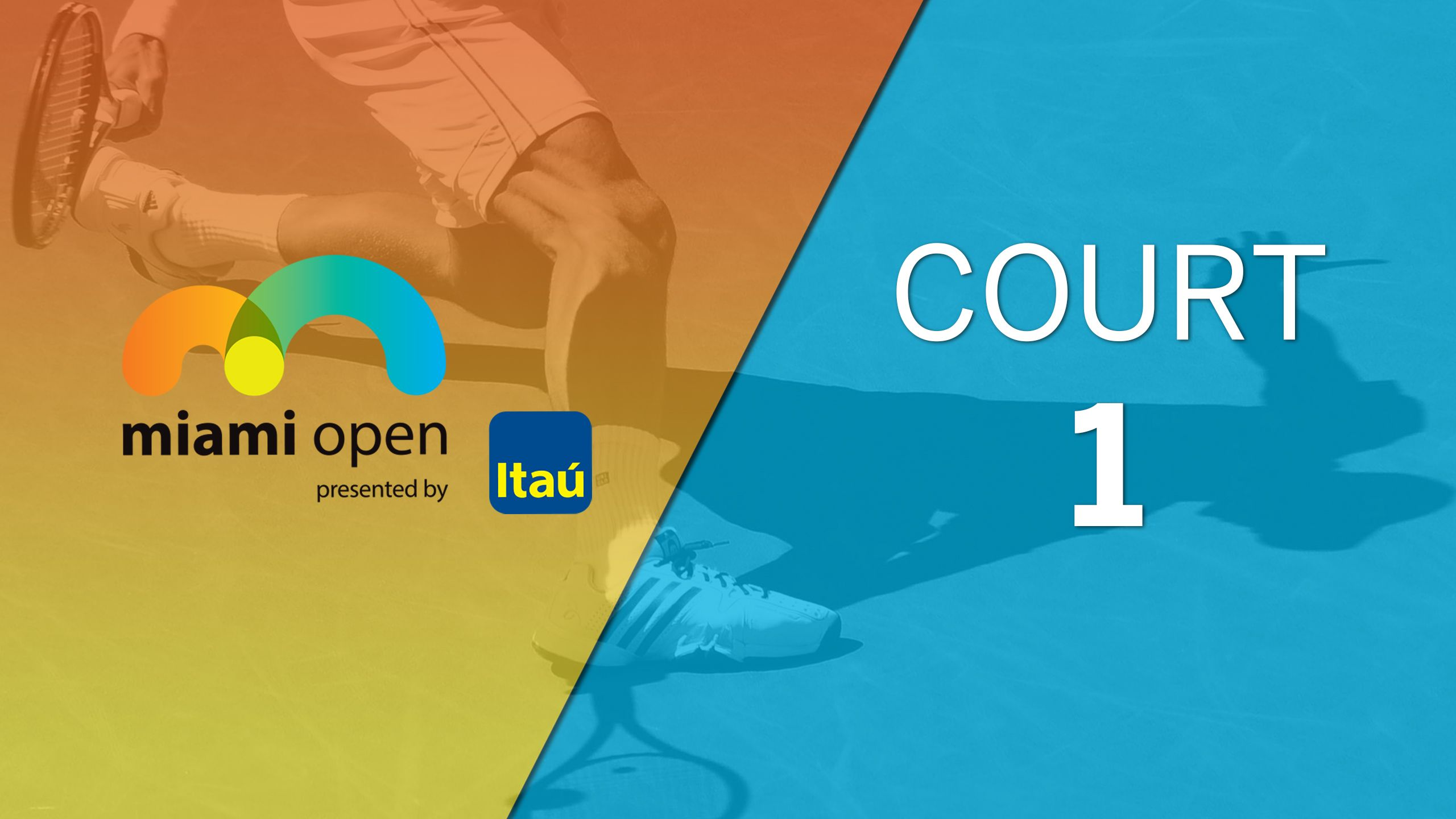 Miami Open - Court 1 (Second Round)