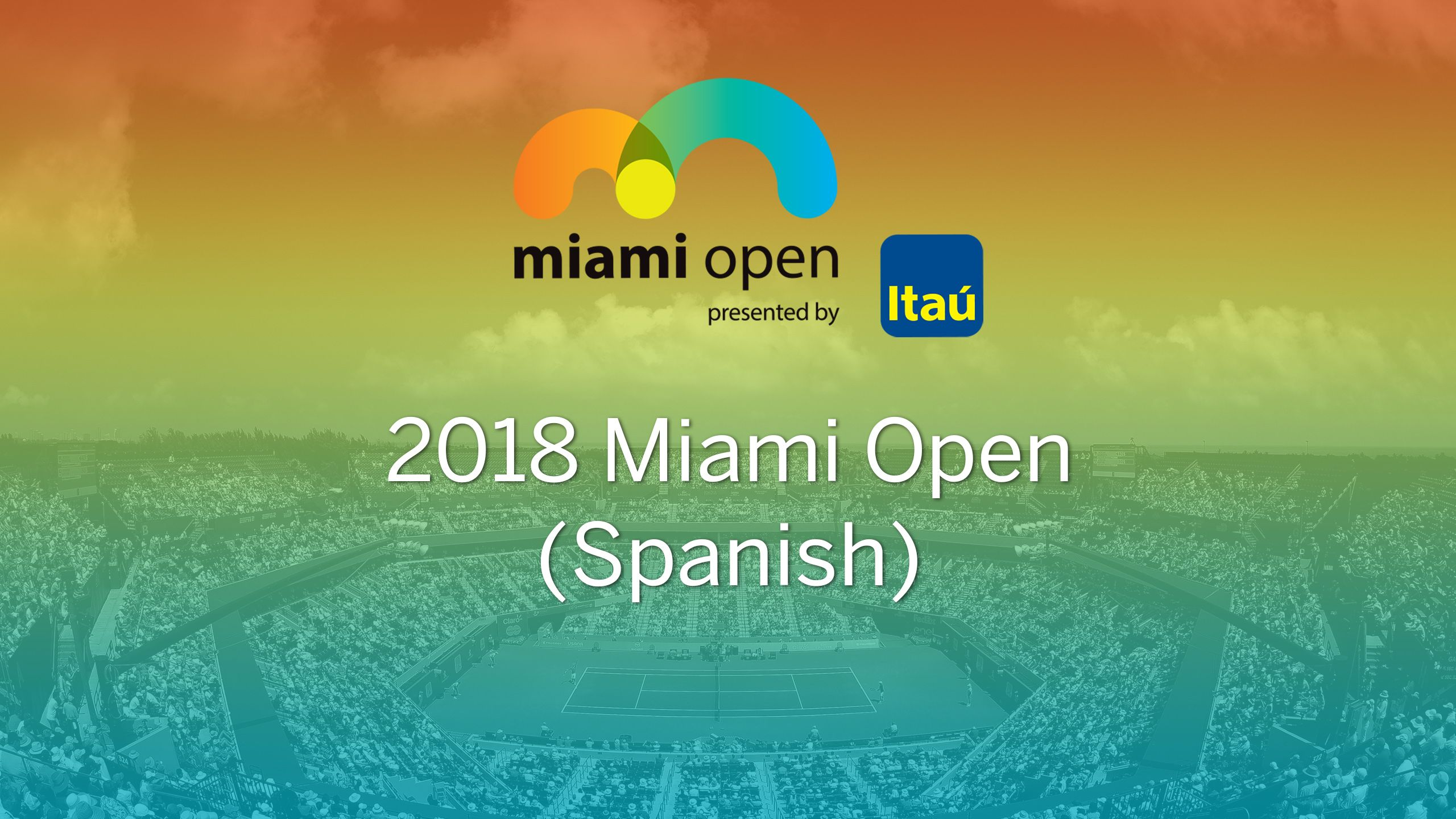 In Spanish - Miami Open (Second Round)