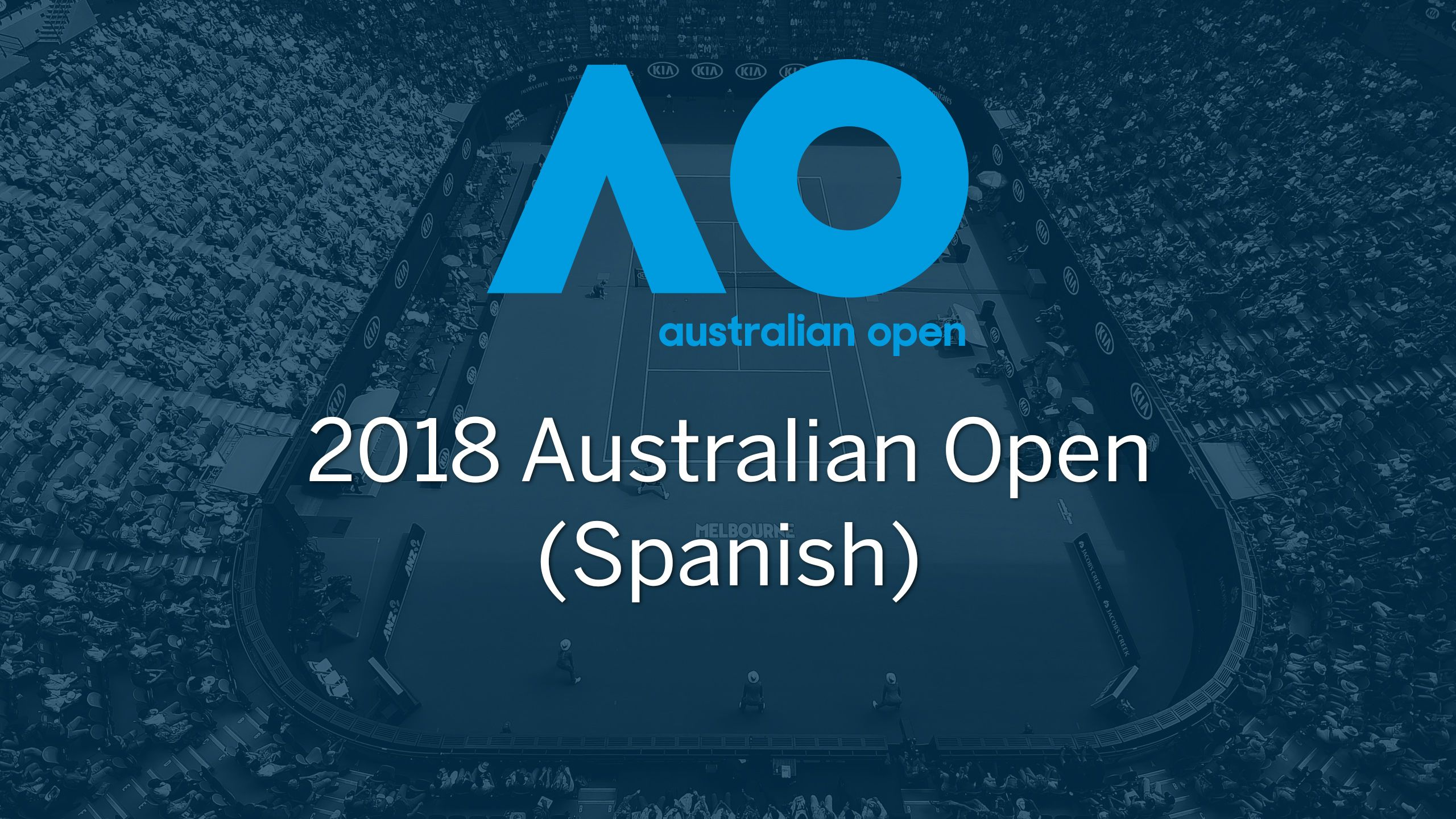 2018 Australian Open (Spanish-language)