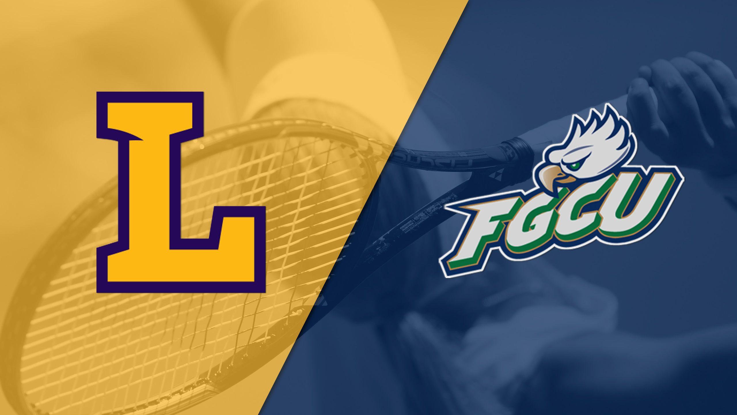 Lipscomb vs. Florida Gulf Coast (Final) (Atlantic Sun Men's Tennis Championship)