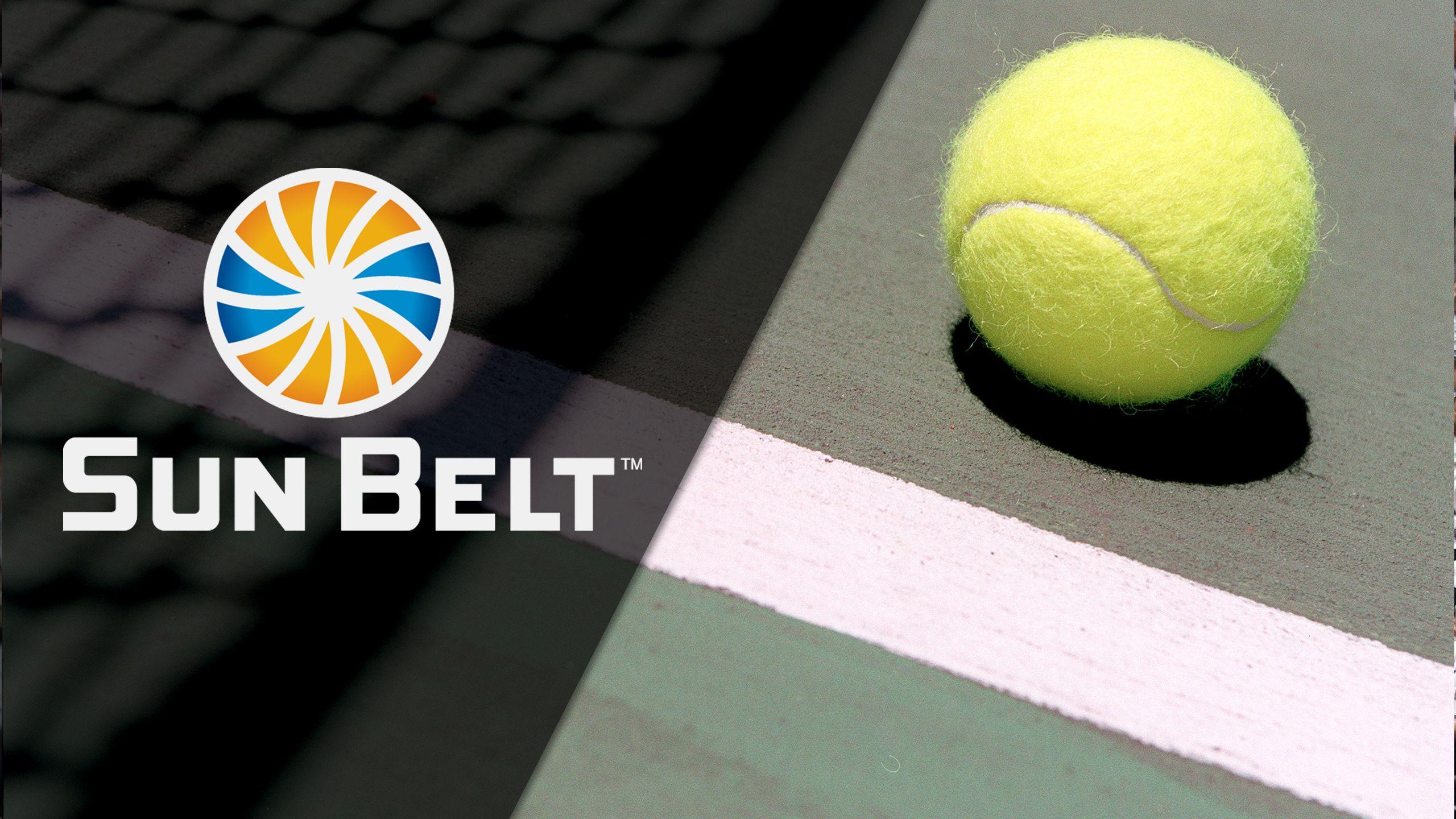 2017 Sun Belt Men's Tennis Championship (Semifinals) (Sun Belt Men's Tennis Championship)