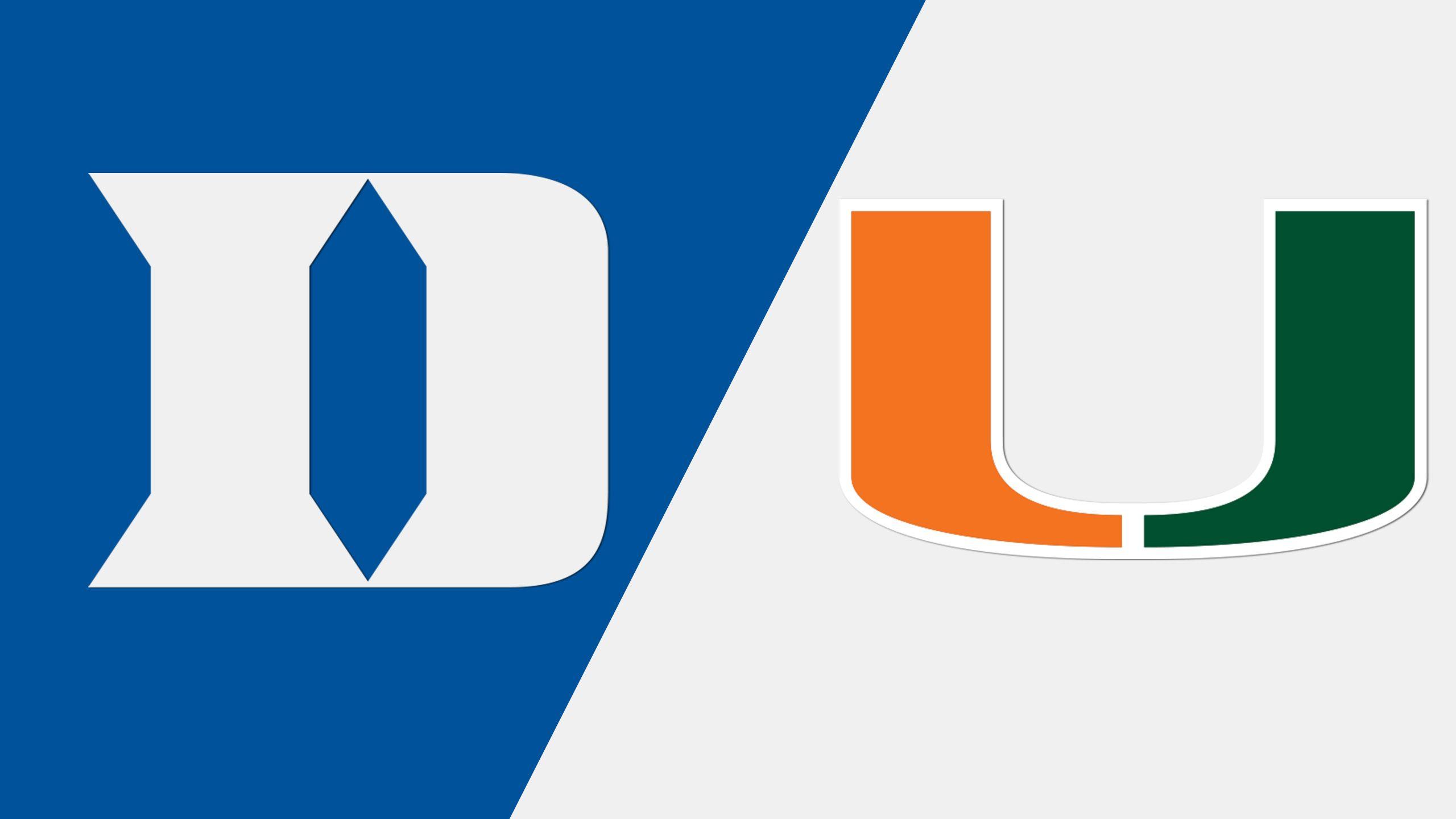 Duke vs. Miami (M Tennis)