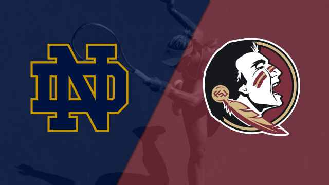 Notre Dame vs. Florida State (W Tennis)