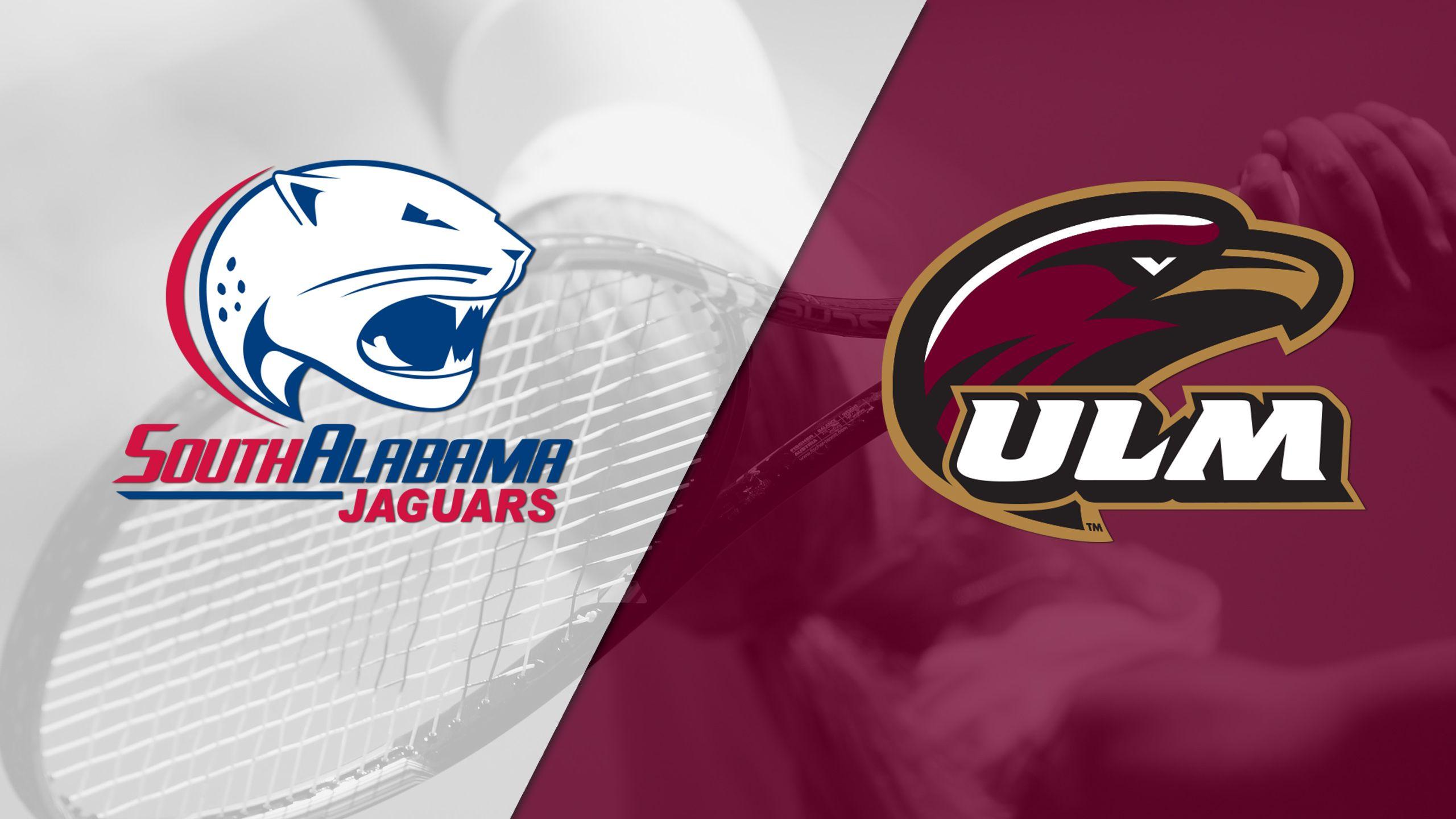 South Alabama vs. ULM (Championship) (Sun Belt Women's Tennis Championship)