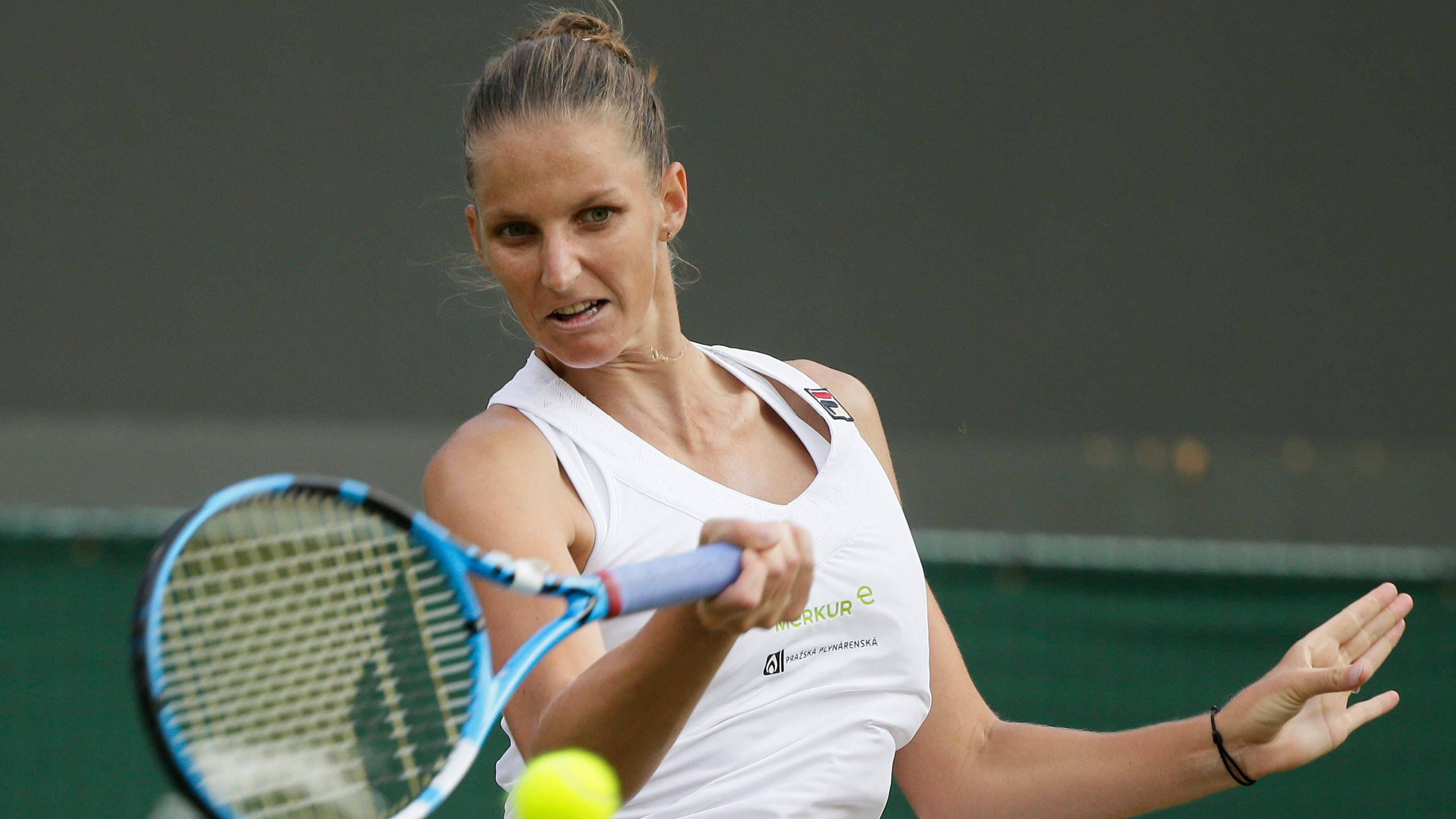 (7) Pliskova vs. (20) Bertens (Ladies' Fourth Round)