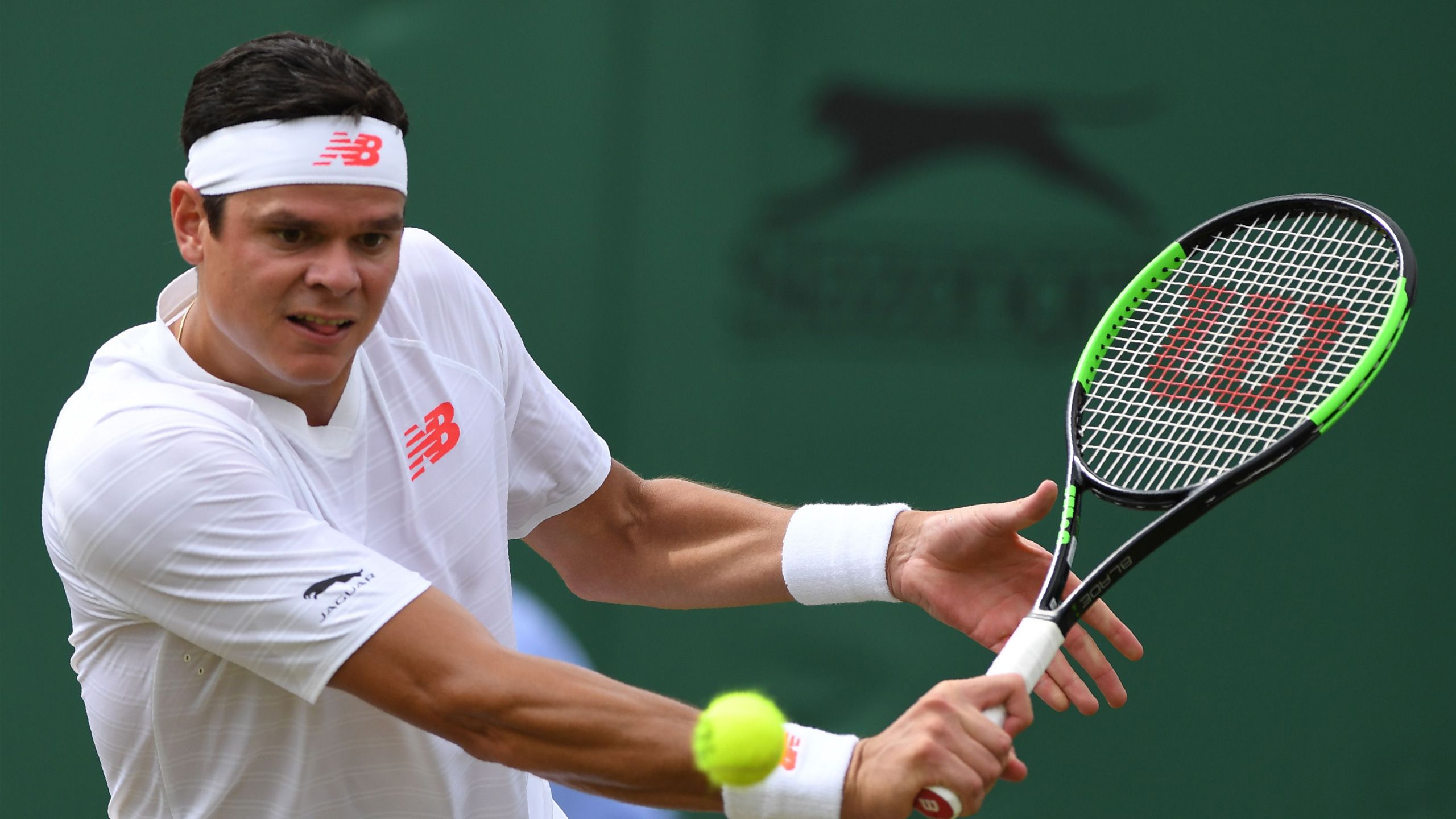 (13) Raonic vs. Novak (Gentlemen's Third Round)