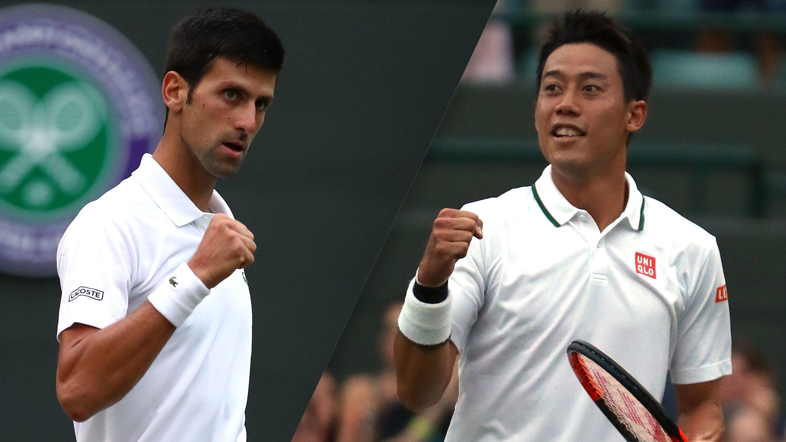 (12) Djokovic vs. (24) Nishikori