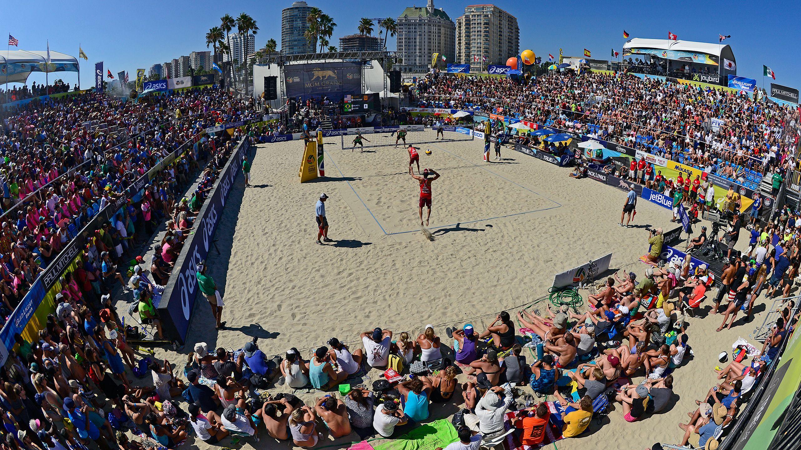 World Series of Beach Volleyball: USA vs. The World