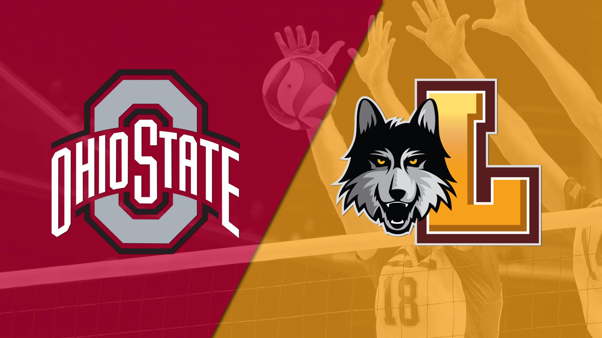 #4 Ohio State vs. #8 Loyola-Chicago (M Volleyball)