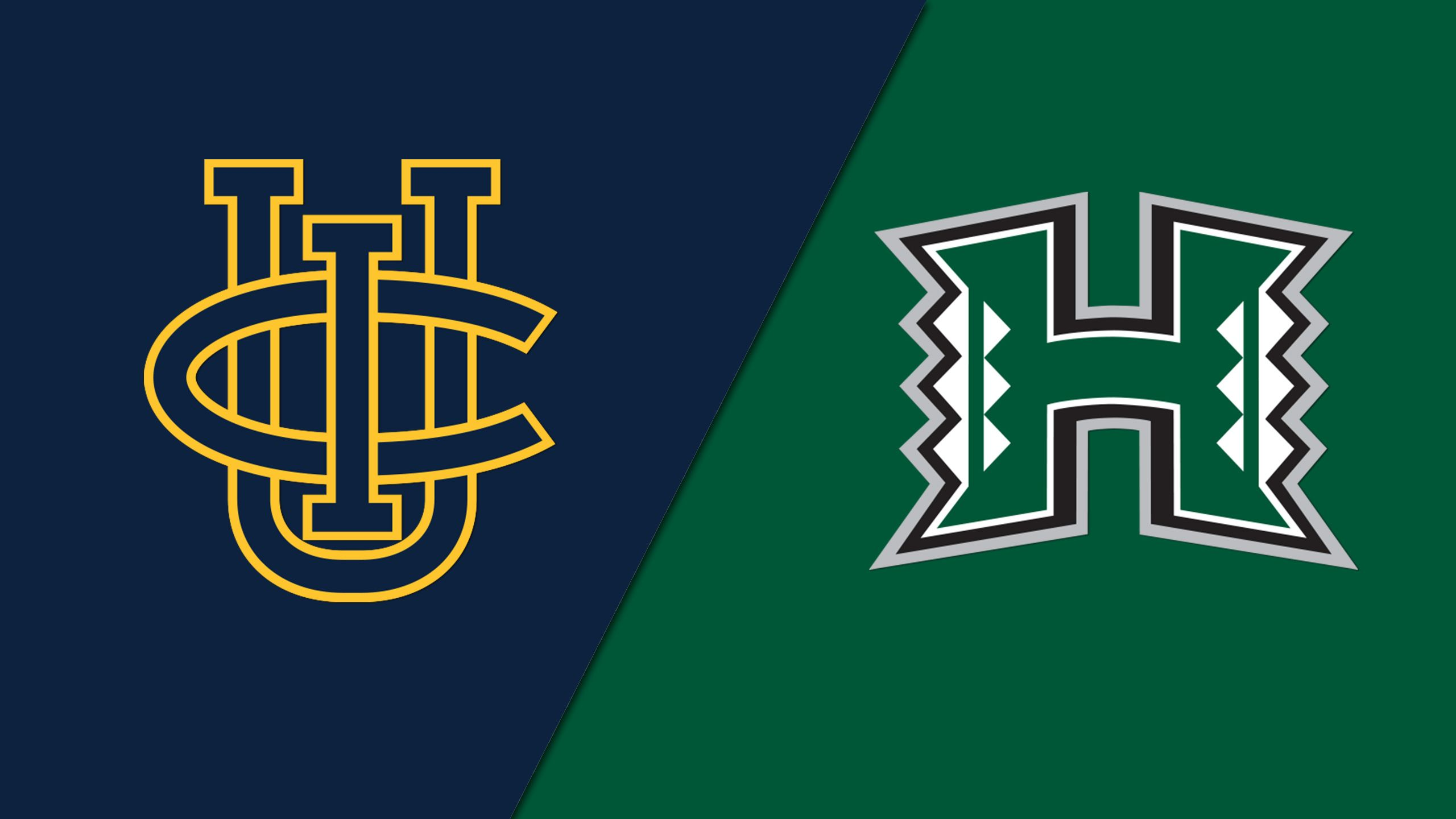 #3 UC Irvine vs. #6 Hawaii (Semifinal #1) (Big West Men's Volleyball Tournament)