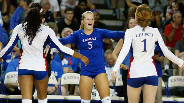Texas Tech vs. #9 Kansas (W Volleyball)