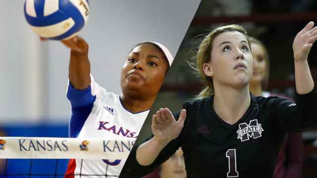 #5 Kansas vs. Mississippi State (W Volleyball)