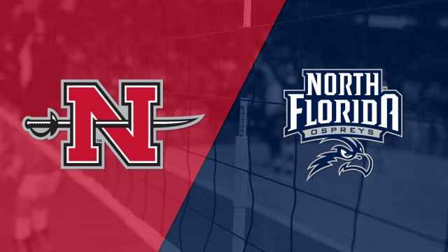 Nicholls vs. North Florida (W Volleyball)