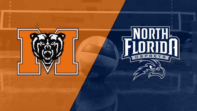 Mercer vs. North Florida (W Volleyball)
