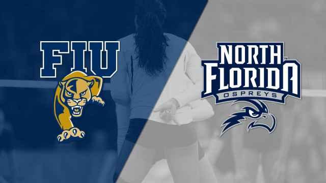 Florida International vs. North Florida (W Volleyball)