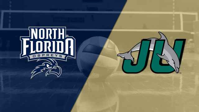 North Florida vs. Jacksonville (W Volleyball)