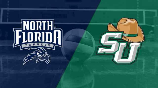 North Florida vs. Stetson (W Volleyball)