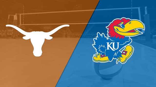 #2 Texas vs. #6 Kansas (W Volleyball)