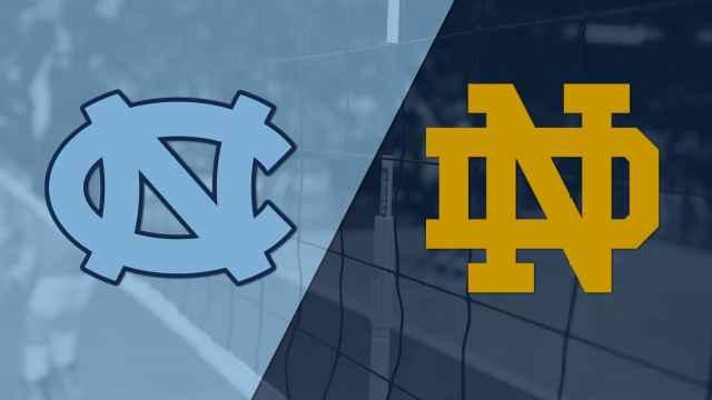 #8 North Carolina vs. Notre Dame (W Volleyball)
