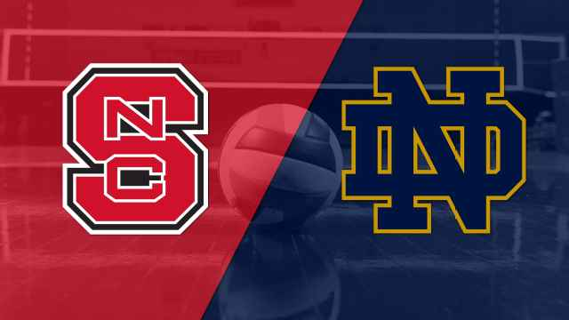 NC State vs. Notre Dame (W Volleyball)