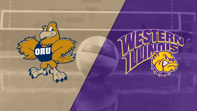 Oral Roberts vs. Western Illinois (W Volleyball)