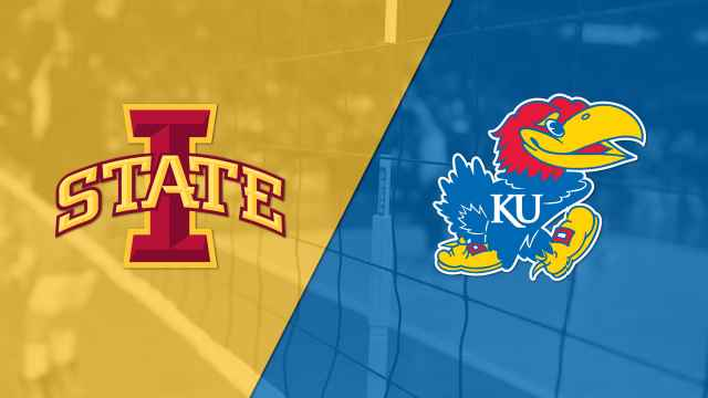 Iowa State vs. #5 Kansas (W Volleyball)